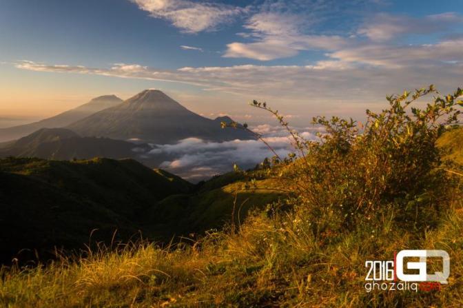 Pendakian Gunung Prau via Jalur Wates, Temanggung. Keramahan warga dan alam dalam kabut syahdu.